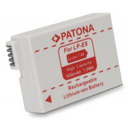 Canon LP-E8 akkumulátor - Patona