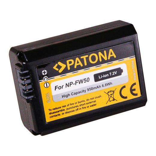 Sony NP-FW50 akkumulátor - Patona