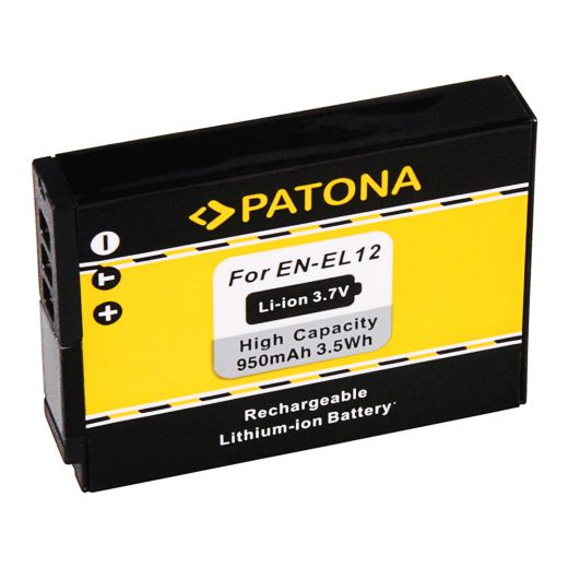 Nikon EN-EL12 akkumulátor - Patona