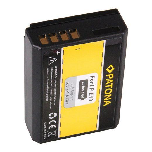 Canon LP-E10 akkumulátor - Patona
