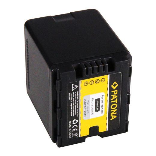 Panasonic VW-VBN260 akkumulátor - Patona
