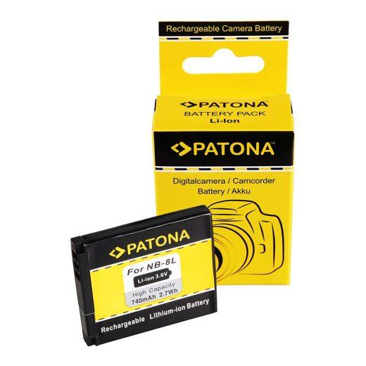 Canon NB-8L akkumulátor - Patona