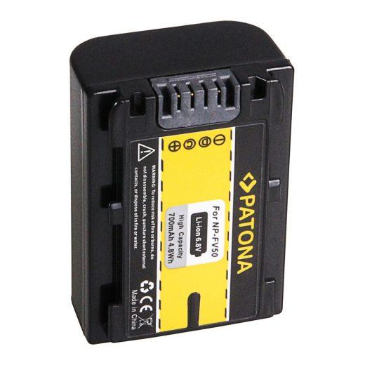 Sony NP-FV50 akkumulátor - Patona