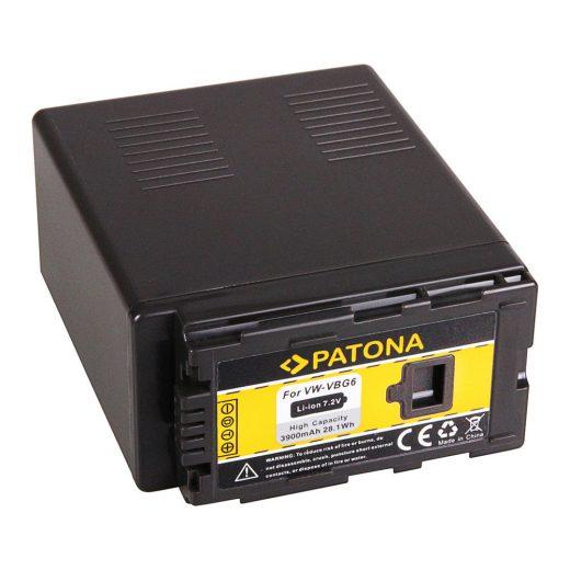 Panasonic VW-VBG6 akkumulátor - Patona