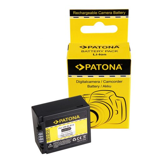 Panasonic VW-BLB13 akkumulátor - Patona