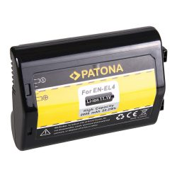 Nikon EN-EL4 akkumulátor - Patona