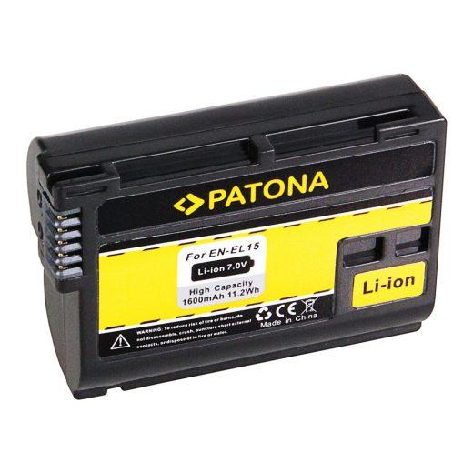 Nikon EN-EL15 akkumulátor - Patona
