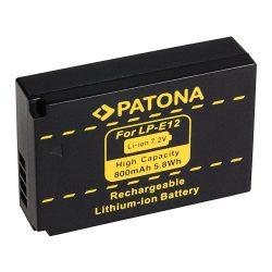 Canon LP-E12 akkumulátor - Patona