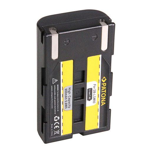 Samsung SB-LSM80 akkumulátor - Patona