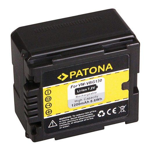 Panasonic VW-VBG130 akkumulátor - Patona