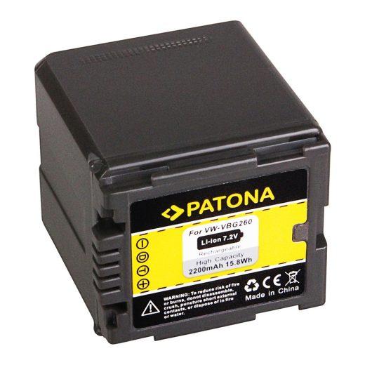 Panasonic VW-VBG260 akkumulátor - Patona