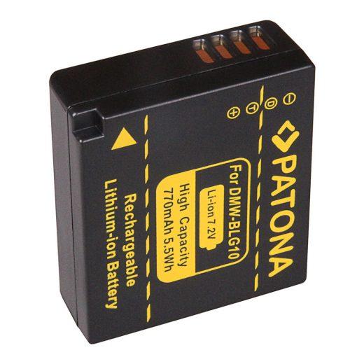 Panasonic DMW-BLG10 akkumulátor - Patona