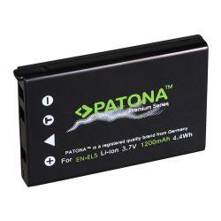 Nikon EN-EL5 akkumulátor - Patona Premium
