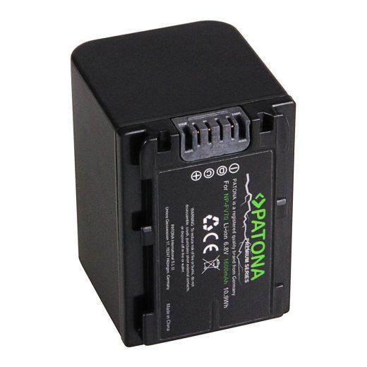 Sony NP-FV70 akkumulátor - Patona Premium