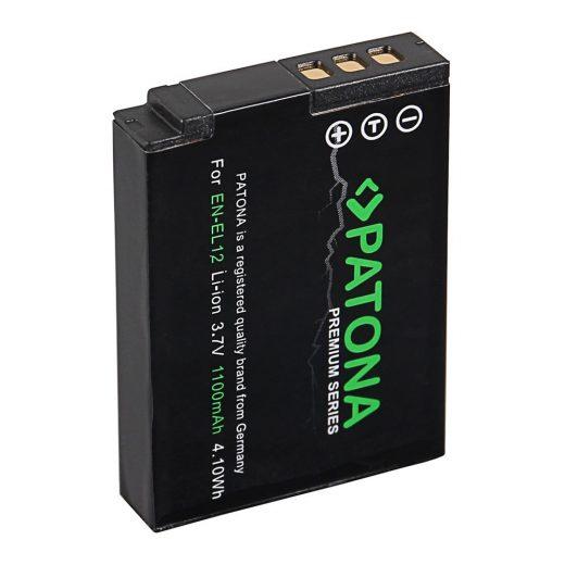 Nikon EN-EL12 akkumulátor - Patona Premium