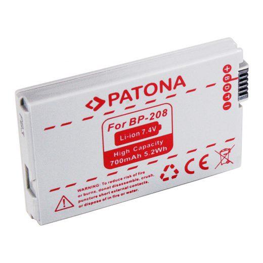 Canon BP-208 akkumulátor - Patona