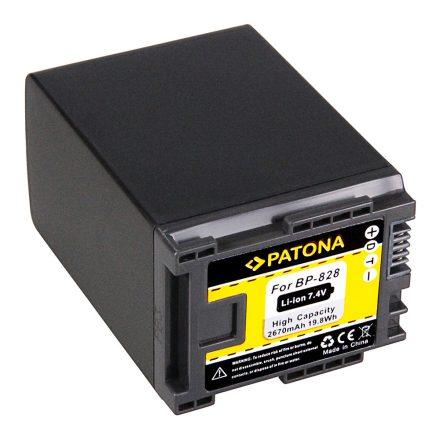 Canon BP-828 akkumulátor - Patona