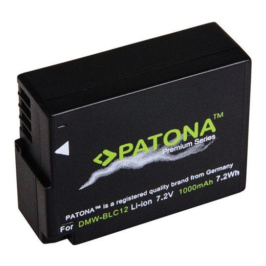 Panasonic DMW-BLC12, DMW-BLC12E akkumulátor - Patona Premium