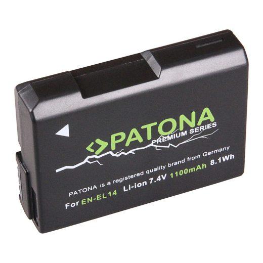 Nikon EN-EL14 akkumulátor - Patona Premium