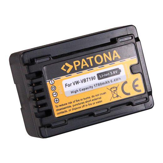 Panasonic VW-VBT190 akkumulátor - Patona
