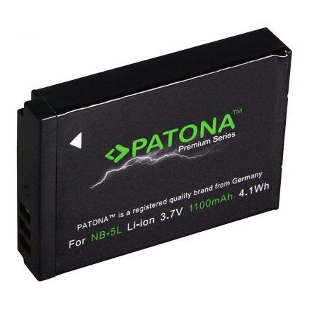 Canon NB-5L akkumulátor - Patona Premium