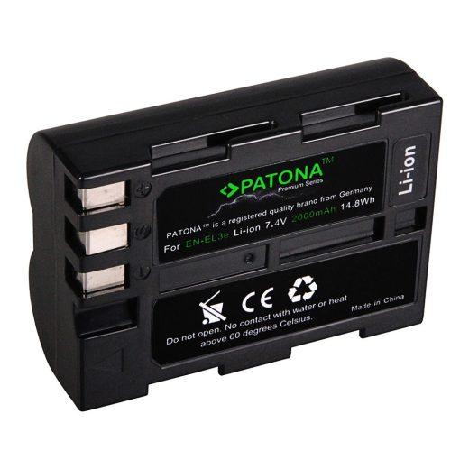Nikon EN-EL3E akkumulátor - Patona Premium