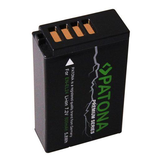 Nikon EN-EL24 akkumulátor - Patona Premium