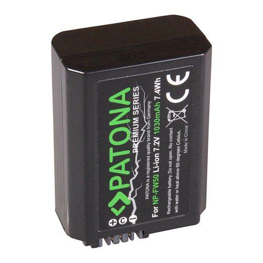 Sony NP-FW50 akkumulátor - Patona Premium