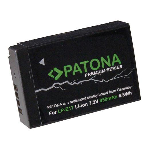 Canon LP-E17 akkumulátor - Patona Premium