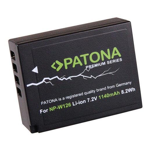 Fuji NP-W126 akkumulátor - Patona Premium