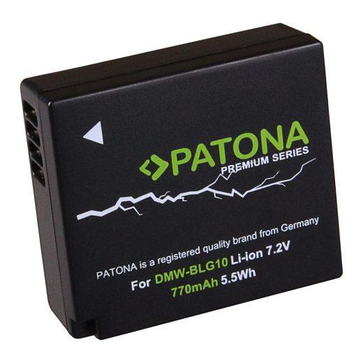 Panasonic DMW-BLG10 akkumulátor - Patona Premium