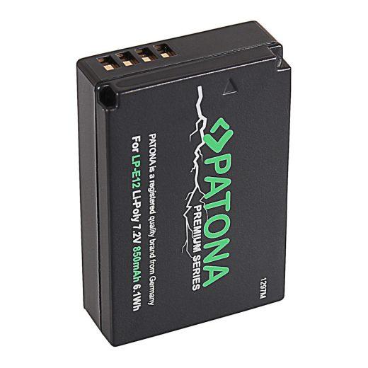Canon LP-E12 akkumulátor - Patona Premium