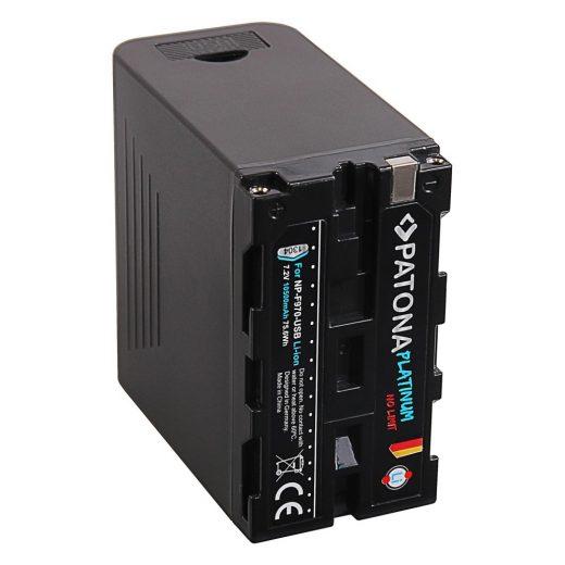 Sony NP-F970, NP-F960, NP-F950 akkumulátor - Patona Platinum