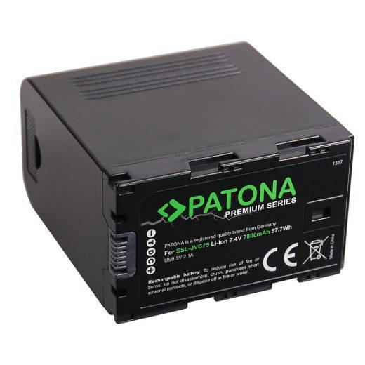 JVC SSL-75 akkumulátor - Patona Premium