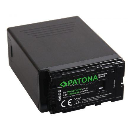 Panasonic VW-VGB6 akkumulátor - Patona Premium