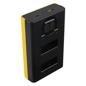 GoPro Max Akkumulátor Töltő - SPCC1B - 2 Töltőhely - LCD