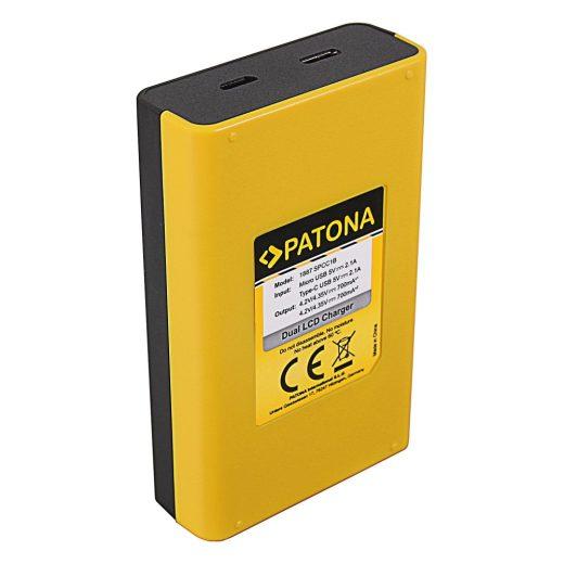 GoPro Max SPCC1B Akkumulátor Töltő - 2 Töltőhely - LCD