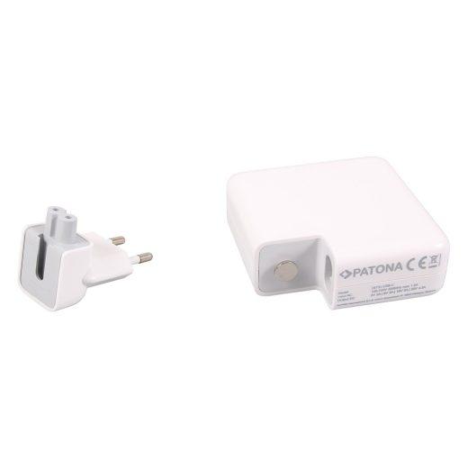 Patona Hálózati PD Töltő - 4,3A - 87W - USB-C kábellel