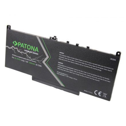 Dell Latitude E7260 E7270 E7470 akkumulátor - Patona Premium