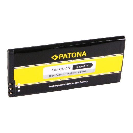 Nokia BL-5H akkumulátor - 3,7V 1850 mAh - Patona