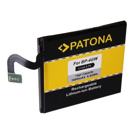 Nokia BP-4GW  akkumulátor - 3,7V 1600 mAh - Patona