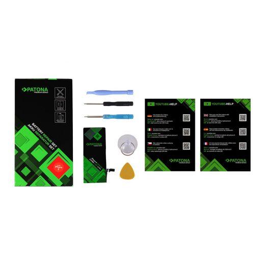Apple iPhone 6 akkumulátor - Szerelőkészlettel - Patona Premium