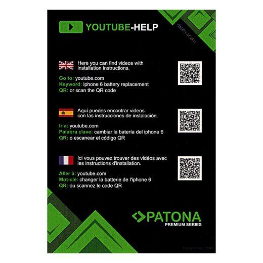 Apple iPhone 6s Plus akkumulátor - Szerelőkészlettel - Patona Premium