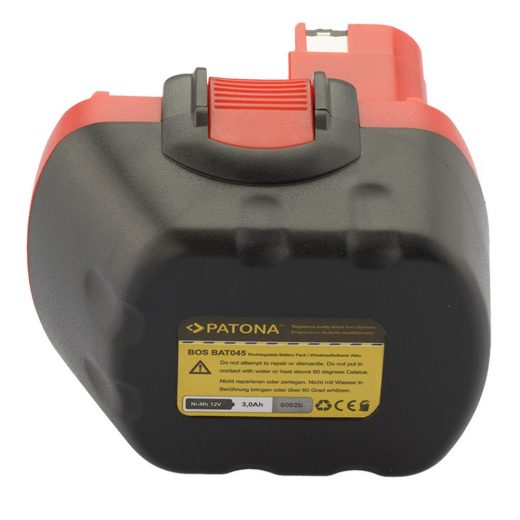 Bosch 12V 3000 mAh NiMH akkumulátor - Patona