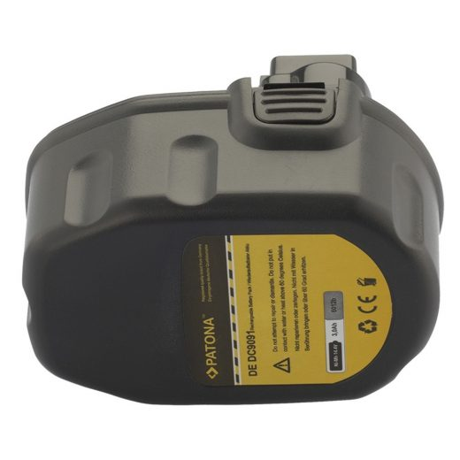 DeWalt - Black & Decker - Würth 14.4V 3000 mAh akkumulátor - Patona