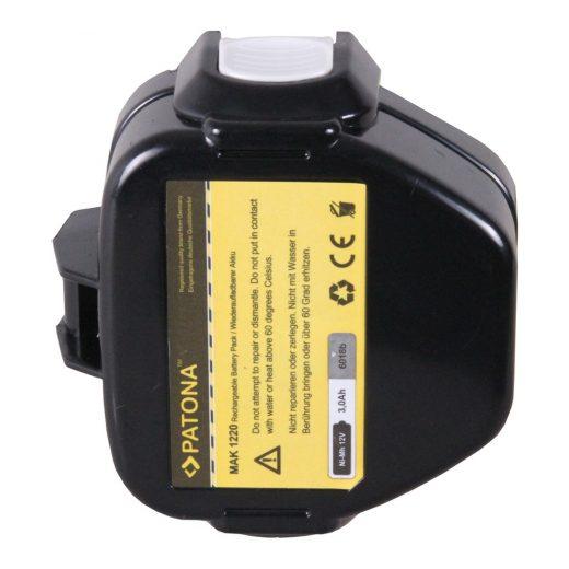 Makita 1220 - 12V 3000 mAh NiMH akkumulátor - Patona