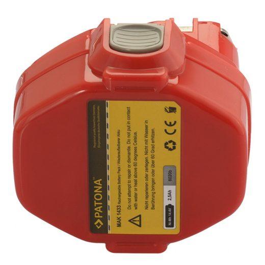 Makita 14,4V 2500 mAh NiMH akkumulátor - Patona