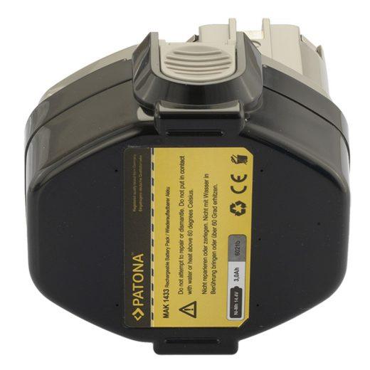Makita 1433 - 14,4V 3000 mAh NiMH akkumulátor - Patona