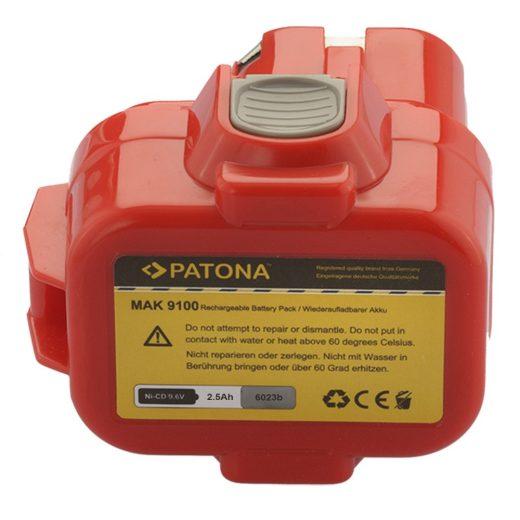 Makita 9,6V 2500 mAh NiMH akkumulátor - Patona