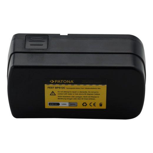 Festool BPS12C - 12V 3000 mAh NiMH akkumulátor - Patona